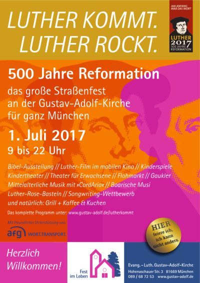 Luther kommt