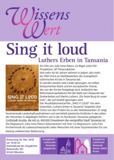 WissensWert Sing it loud